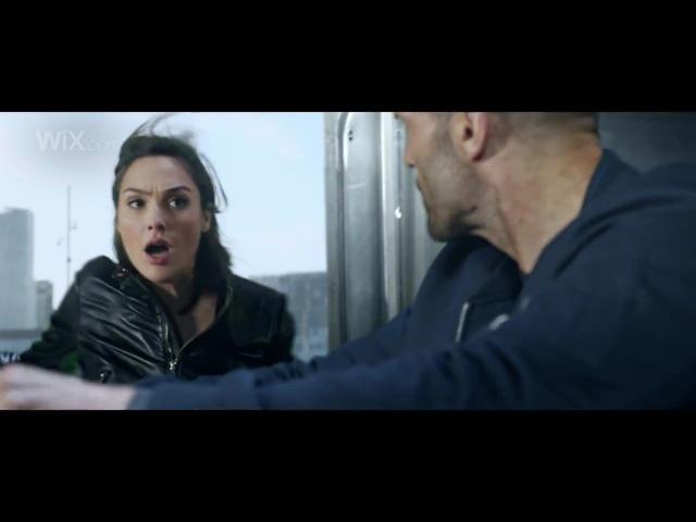 Wix Super Bowl Commercial 2017 Part 2 Jason Statham, Gal Gadot