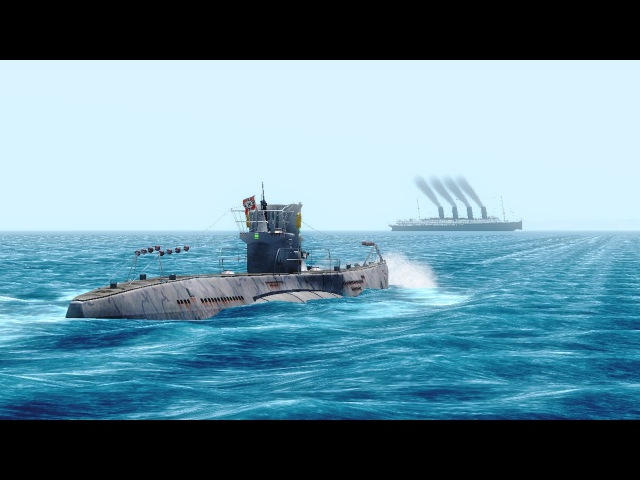 Vehicle Simulator - The Sinking of the RMS Lusitania - PART 2