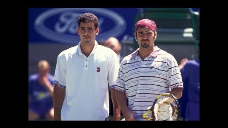Andre Agassi VS Pete Sampras Highlight 1995 AO Final