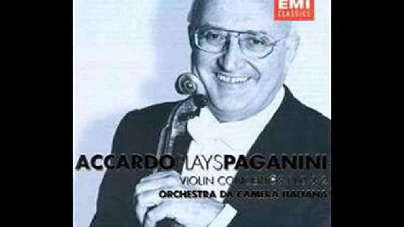 Salvatore Accardo plays Paganini violin concerto no.6 - TopCools.com