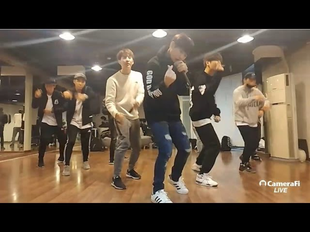 Luv with u - [Double S 301] - dance practice - 17.12.2016