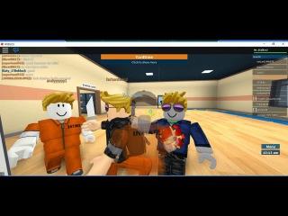 Побег из тюрьмы в ROBLOX