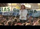 Аргентина Бывший Президент Кирхнер начинает кампанию за сенат