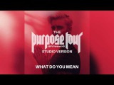 Justin Bieber   What Do You Mean (Live at The Purpose World Tour Studio Version)