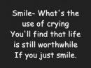 Charlie Chaplin Smile lyrics Glee
