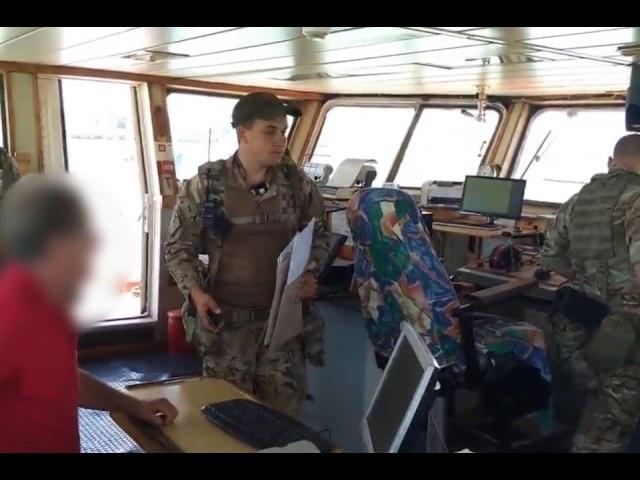 Прикордонники Морської охорони затримали ще одне іноземне судно, яке заходило в...