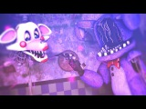 SFM FNAF Bonnie x Mangle Faded By Alan Walker