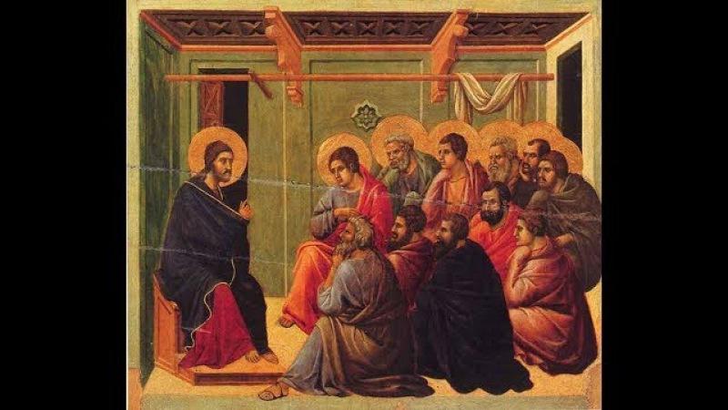 Апостолы Иисуса Христа. Аудио - церковное пение. Вечерня на молдавском языке.