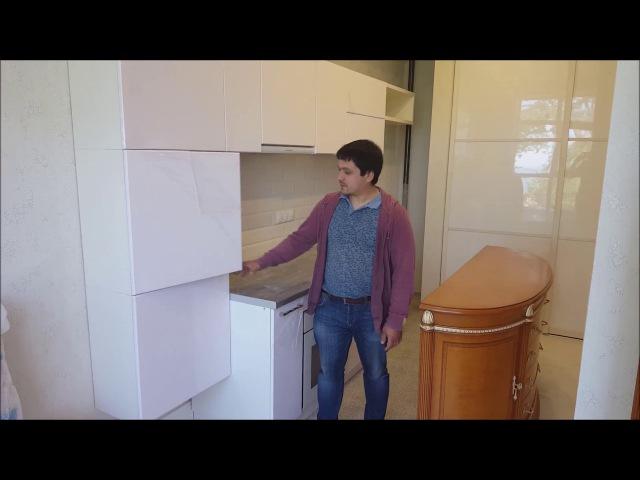Шкафы купе и кухни в Сочи и Адлере, завершённый обьект нашей компании, Азбука Ремонта Сочи.