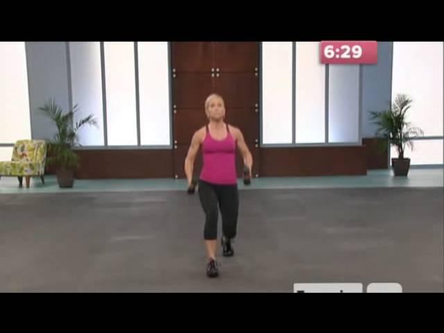 10 Pound Slimdown Xtreme 07 10 Minute Bonus Buns Thigh Workout 10 min