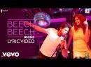 Beech Beech Mein - Official Lyric Video Jab Harry Met Sejal Shah RukhAnushkaPritam