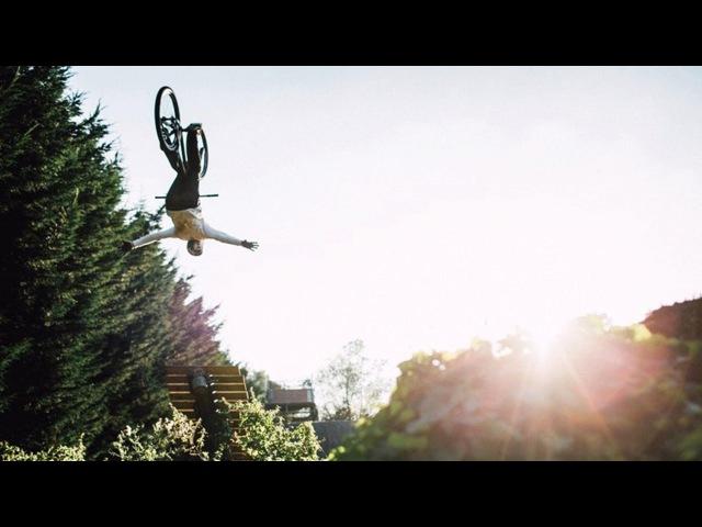 Matt Jones Throws Huge Tricks in Slopestyle MTB Training Session | Sound of Speed