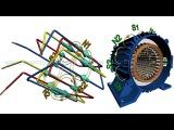 Вращающееся магнитное поле и синхронная скорость. Rotating Magnetic Field &amp Synchronous Speed