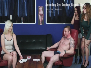 Anna Joy, Ava Austen, Bonnie Rose - Strip Poker Voyeurs 2017
