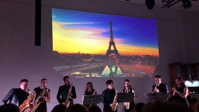 Романтический вечер в Париже 💞