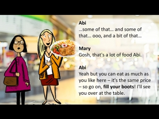 English at University׃ 9 - Learn phrases you can use in a canteen
