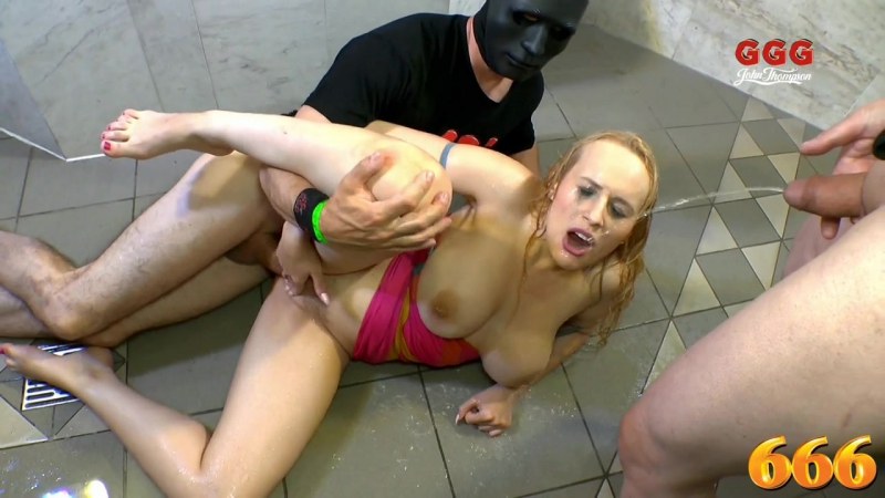 Francesca dicaprio pissed on and fucked hard 666bukkake