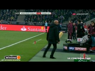Боруссия М - Айнтрахт 0:0. Обзор матча. Германия. Бундеслига 2016/17. 9 тур.