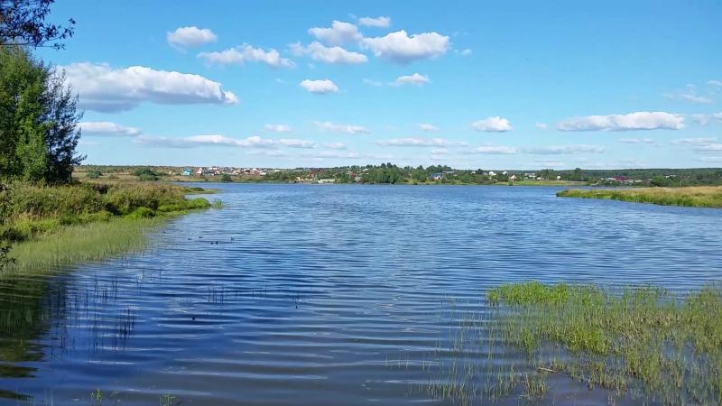 Вид на Кольчугинское водохранилище со стороны д. Зайкино 20170816_164939
