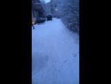 На улице белый снег ,но мне грустно
