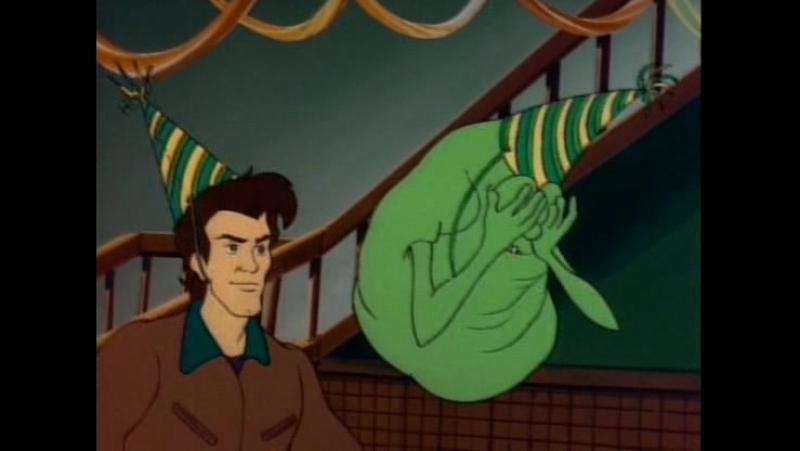 Настоящие охотники за привидениями The Real Ghostbusters 104 - Slimer, Come Home