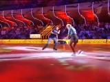 Юлия Ковальчук, Роман Костомаров танец под песню  В. Высоцкого