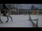 Мирошка, самая первая тренька на новом месте 01.02.17