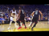 This dirty play by Draymond is just sad to see, Hardens wrist is hurt and he just takes a cheap shot