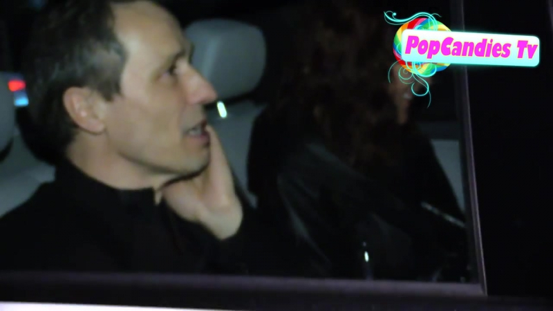 Michael Wincott Hot Mystery Woman departs a delightful night out at the Chatea