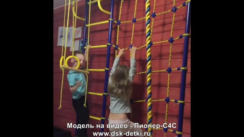 Детский спорткомплекс с рукоходом ДСК Пионер-С4С