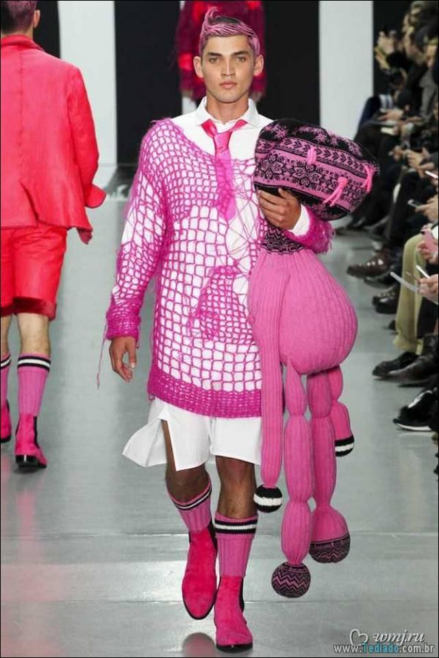 Мировая высокая мода: мужской сегмент.