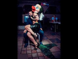 Ростовая кукла Рыба topless на корпоративе
