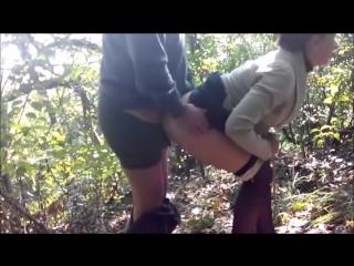 русское домашнее порно в лесу фото