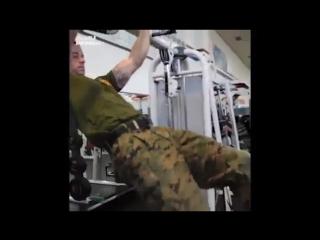 Преуспел не только в службе, но и в физической подготовке