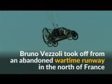 Французский пилот преодолел Ла-Манш на летающем автомобиле