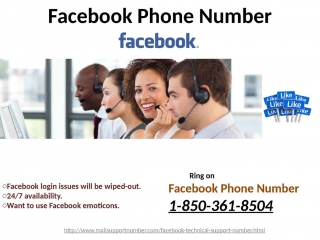 Get Instant Help by methods for Facebook Phone Number 1-850-361-8504