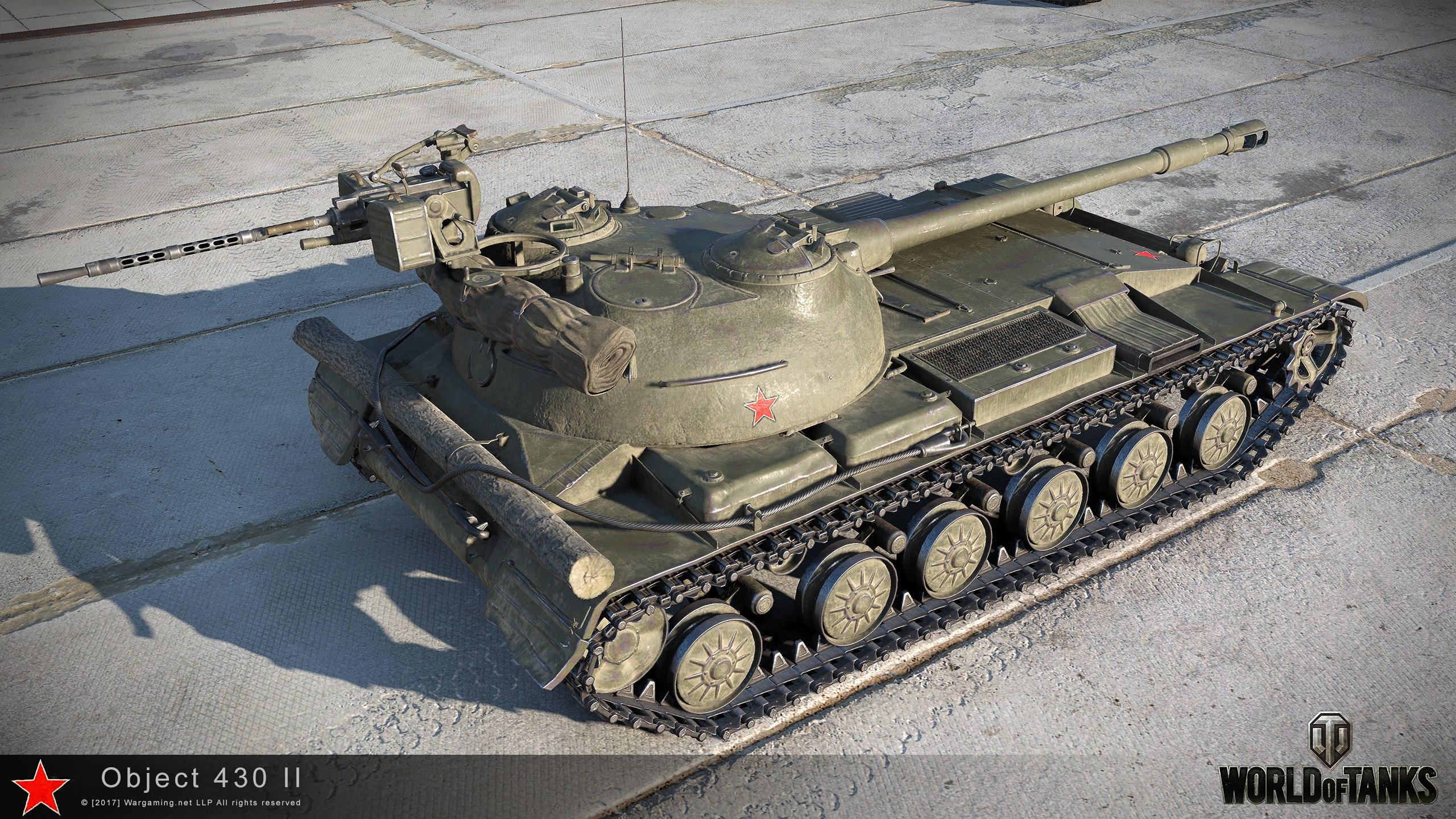 object 430 version ii 9.18 hd renders – the armored patrol