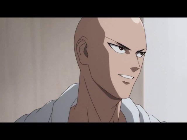 Приколы аниме Сайтама Ванпанчмен лучшие моменты 4