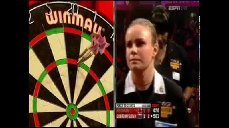 Darts Ladies World Championship 2012 Final Dobromyslova vs Hedman