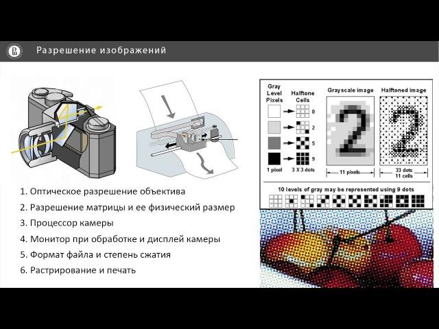12 - Компьютерная графика. Основные понятия компьютерной графики