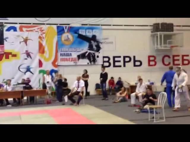 Гаджиев Исмаил (PRIDE GYM) - ФИНАЛ 260ед - Чемпионат Бердска по КУДО 18.09.2016