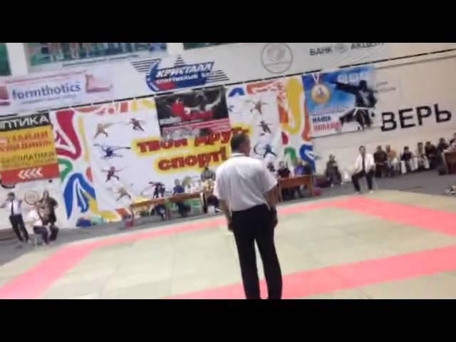 Гаджиев Исмаил (PRIDE GYM) - Чемпионат Бердска по КУДО 18.09.2016