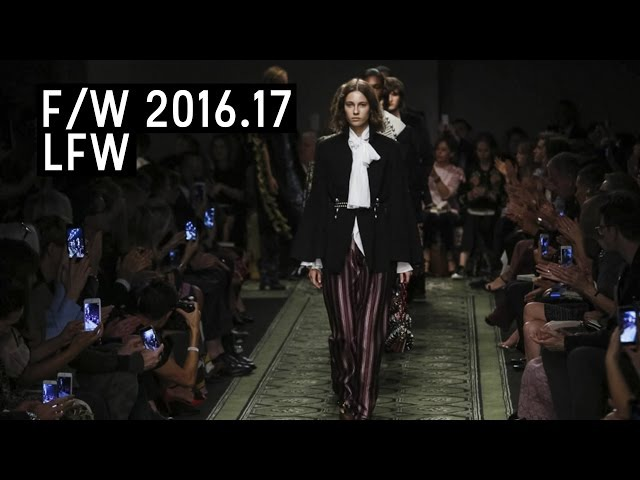 Burberry Fall/Winter 2016.17   London Fashion Week