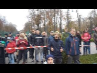 Закрытие сезона в городе Харьков 15 10 2016
