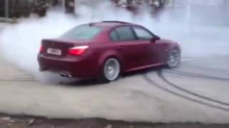 DRIFT BMW M5 E60   ПОДБОРКА ДРИФТ М5 Е60