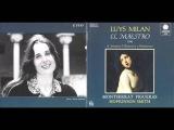 Luys Milan El Maestro 1536,Monserrat Figueras