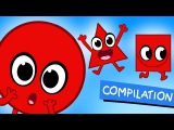 My Magic Shapes (Educational Compilation with Numbers and Colors by My Magic Pet Morphle)
