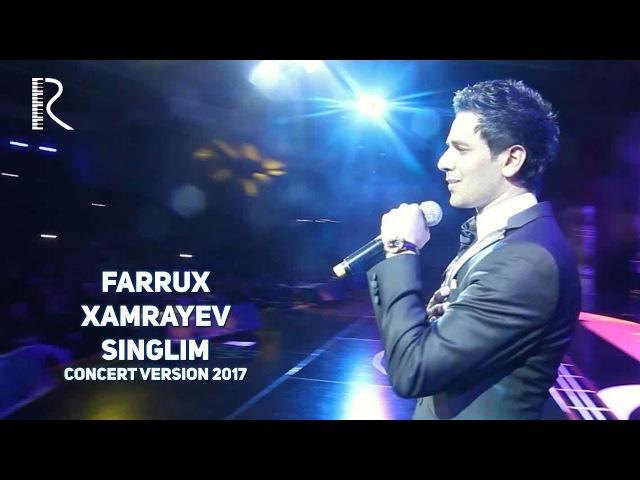 FARRUX XAMRAEV SINGLIM MP3 СКАЧАТЬ БЕСПЛАТНО