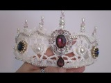 Imperial State Crown Tutorial &amp Elegant Russian Tiara - jennings644