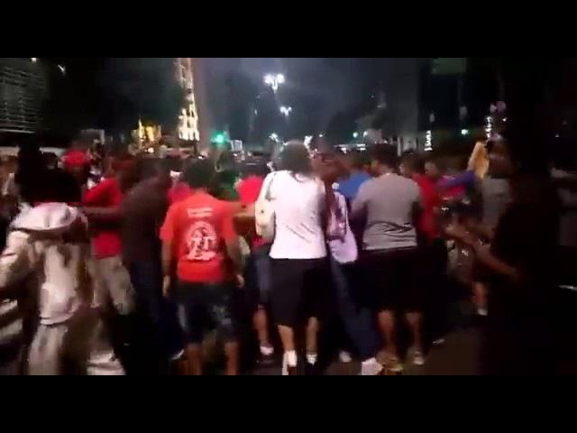 Marcelo Reis dos Revoltados Online foi espancado na noite da última sexta feira por líderes do MTST Movimento dos Trabalhadores Sem Teto